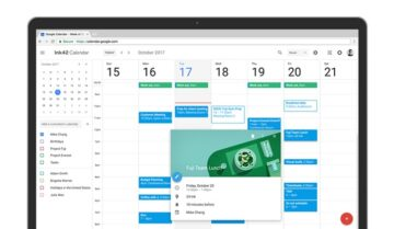 أحصل الأن على تحديث تقويم جوجل الجديد Google Calendar على الويب