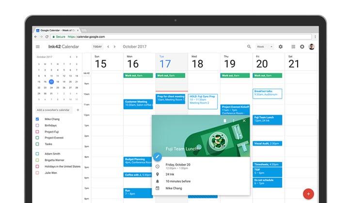 أحصل الأن على تحديث تقويم جوجل الجديد Google Calendar على الويب 1