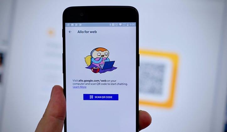 طريقة استخدام تطبيق جوجل ألو Google Allo على الكمبيوتر 1