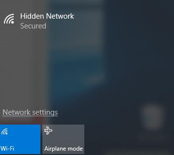 كيفية الإتصال بشبكة الواي فاي المخفية من الكمبيوتر