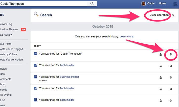 كيفية-مسح-سجل-البحث-في-الفيس-بوك