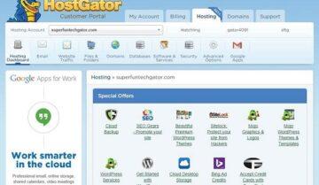 كوبونات خصم هوست جيتور Hostgator بسعر 0.01$ 5