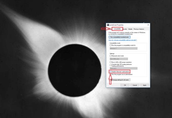 كيفية تعطيل خاصية Full Screen Optimizations على ويندوز 10 للألعاب 1