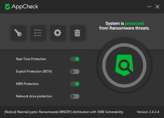 برنامج AppCheck لحماية جهازك من البرمجيات الخبيثة 2