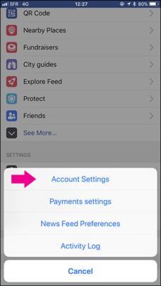 كيفية رفع الصور والفيديوهات بأعلى جودة على فيسبوك للأيفون والأندرويد 2