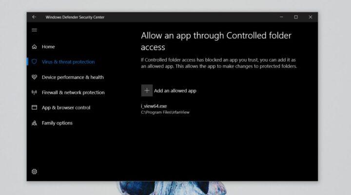 كيفية الحماية من فيروسات الفدية Ransomware ويندوز 10 4