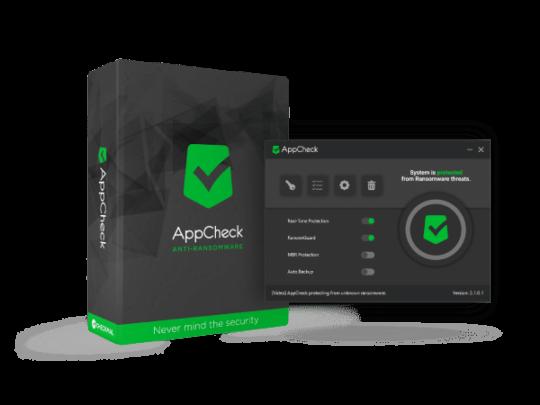 برنامج AppCheck لحماية جهازك من البرمجيات الخبيثة 1
