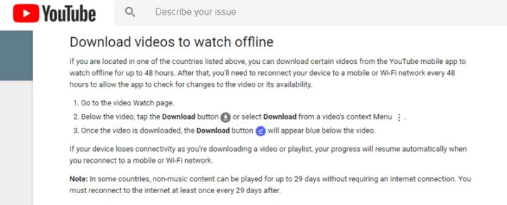 طريقة مشاهدة فيديوهات YouTube بدون إنترنت 3