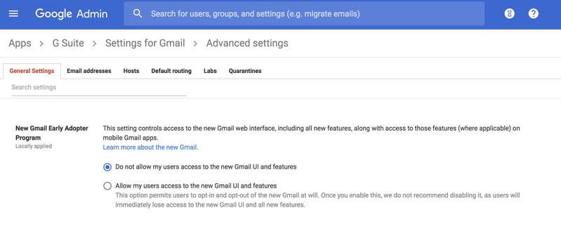 طريقة الحصول على التصميم الجديد لجوجل ميل 2018 وشرح المميزات الجديدة 5