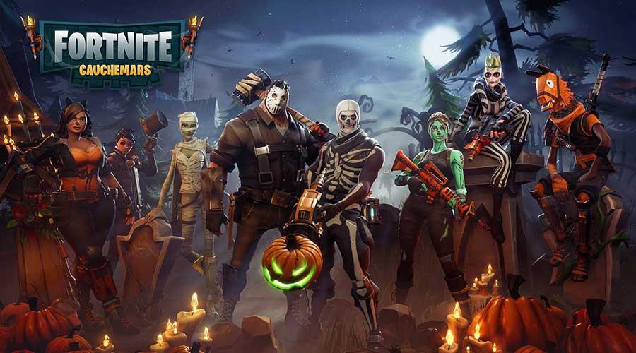 Fortnite battle royale for 100 floor halloween level 1
