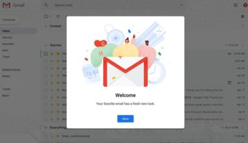 طريقة الحصول على التصميم الجديد لجوجل ميل 2018 وشرح المميزات الجديدة 2