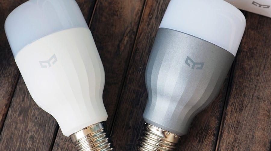 مراجعة لمبة Mi Yeelight LED الذكية من شاومي: تحكم كامل بإضاءة 16 مليون لون عن طريق الهاتف 1