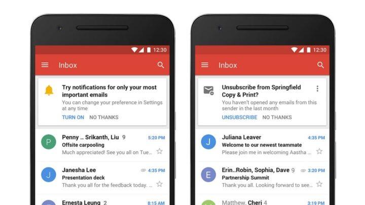 مميزات جديدة تصميم Gmail الجديد التنبيهات-�