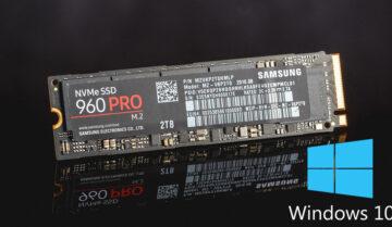 طريقة تثبيت وإقلاع ويندوز 10 على هارد M.2 NVMe SSD