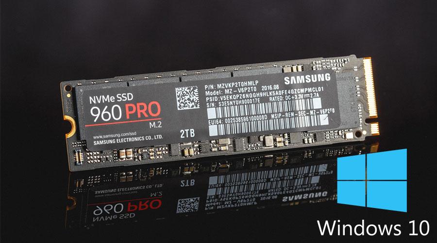 طريقة تثبيت وإقلاع ويندوز 10 على هارد M.2 NVMe SSD 1