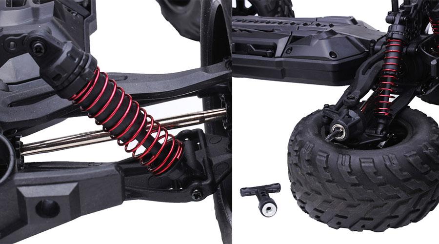 مراجعة 9115 2WD Brushed RC Monster: لعشاق سيارات السباق الكهربائية بالريموت كنترول 2