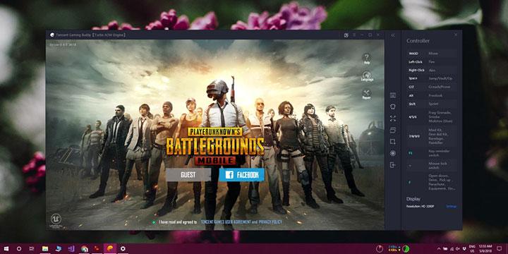 شرح تشغيل لعبة Battle Grounds نسخة الموبايل المجانية على ويندوز 10 بكفائة 1