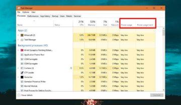 كيفية معرفة أكثر البرامج استهلاكاً للطاقة في ويندوز 10