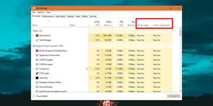 كيفية معرفة أكثر البرامج استهلاكاً للطاقة في ويندوز 10 1