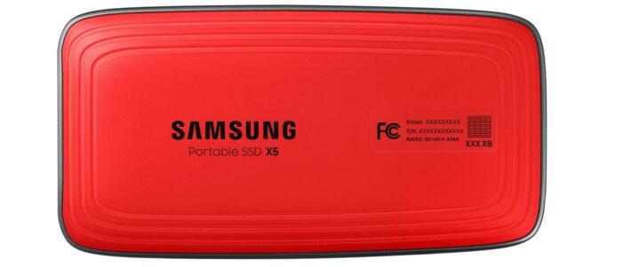 تعرف على Samsung X5 الـSSD الجديد من Samsung 5