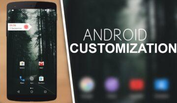 افضل تطبيقات Launcher وايقونات و Widgets وخلفيات على Android 10