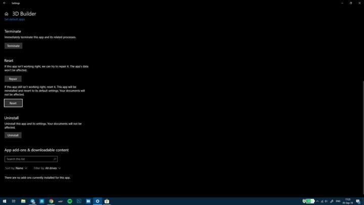 كيفية حل بعض مشاكل التطبيقات على ويندوز Windows 10 9
