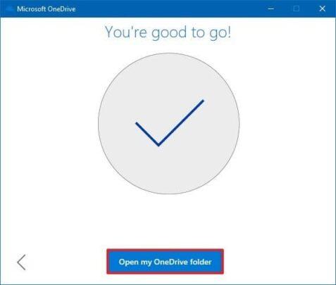 كيف تغير مكان مجلد OneDrive الإفتراضي على ويندوز Windows 10 12