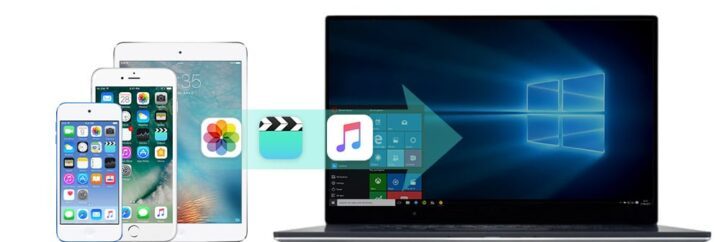 كيفية نقل الصور من جهازي IPad و IPhone الى جهاز بنظام Windows 10 1