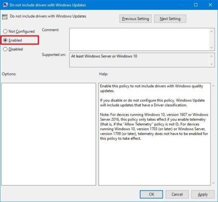 تحديثات التعريفات التلقائية على Windows 10 تسبب مشاكل ؟ هذه طريقة ايقافهم 3