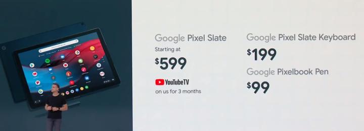 Google Pixel Slate التابلت الجديد من Google المواصفات و المميزات 2