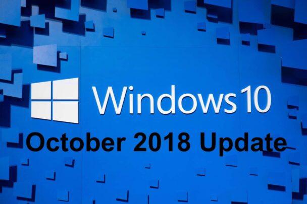 احصل على تحديث ويندوز Windows 10 لشهر اكتوبر قبل الإصدار الرسمي 1