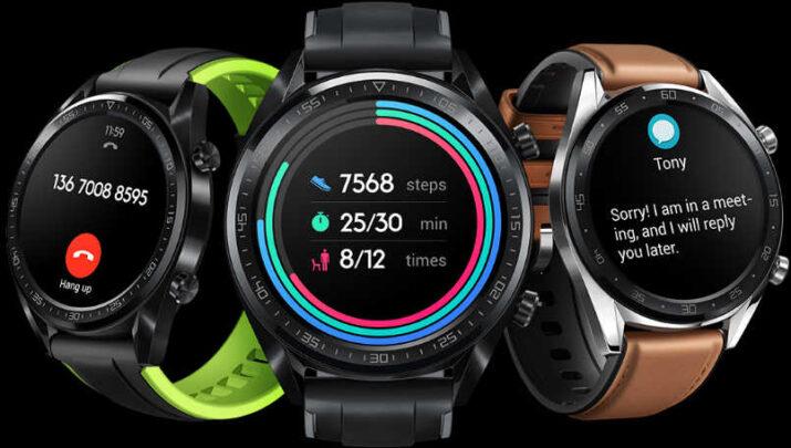 تعرف على ساعة GT Huawei Watch الجديدة المواصفات مع السعر 4