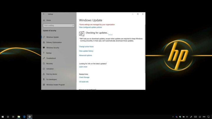 حل مشكلة اجهزة HP مع تحديثات ويندوز Windows 10 1
