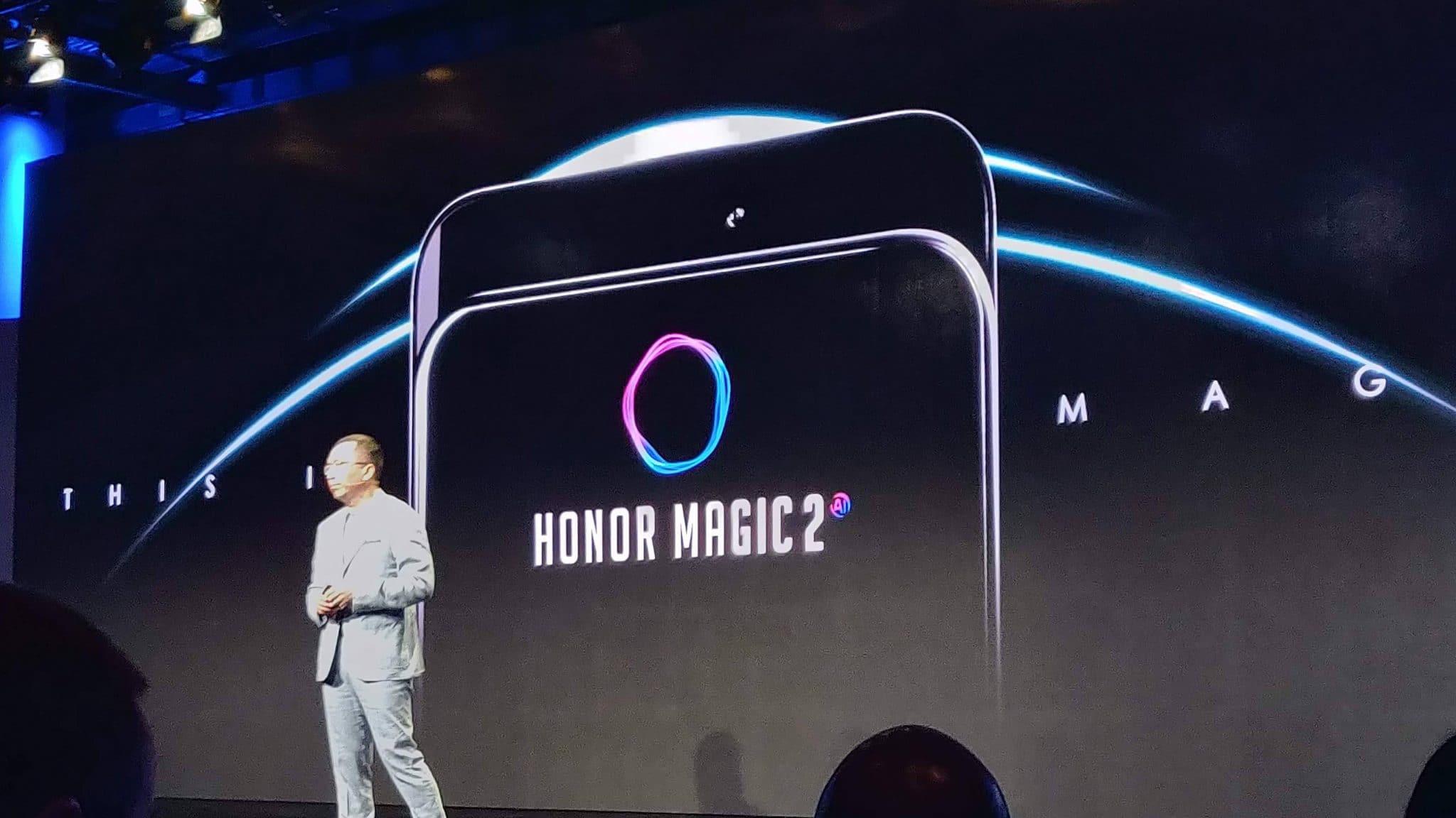 المزيد من التسريبات لهاتف Honor Magic 2 1