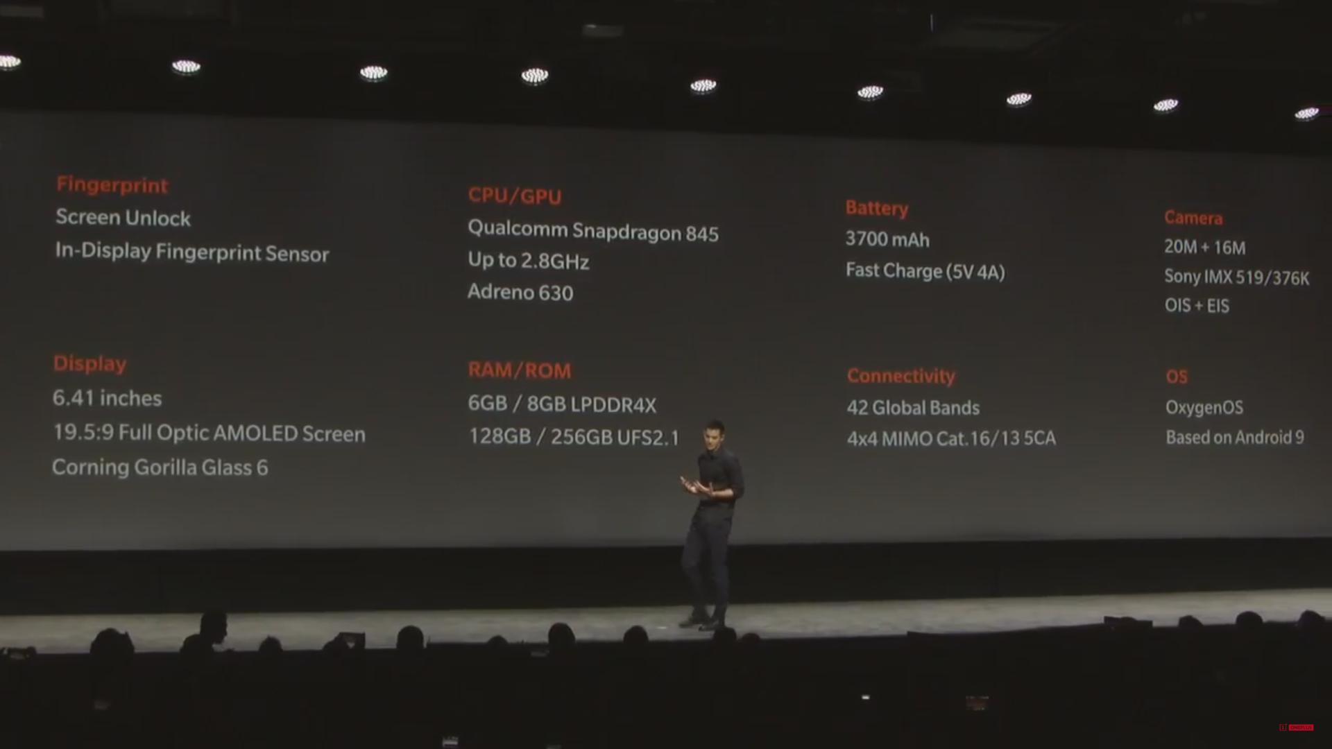 Oneplus تزيح الستار عن Oneplus 6T وبعض الاكسسوارات الجديدة 3