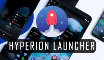 هل يستطيع Hyperion launcher دخول المنافسة؟