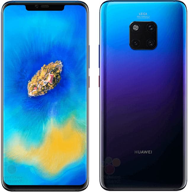 مواصفات هاتف Huawei Mate 20 Pro ومميزاته وعيوبه مع السعر 1