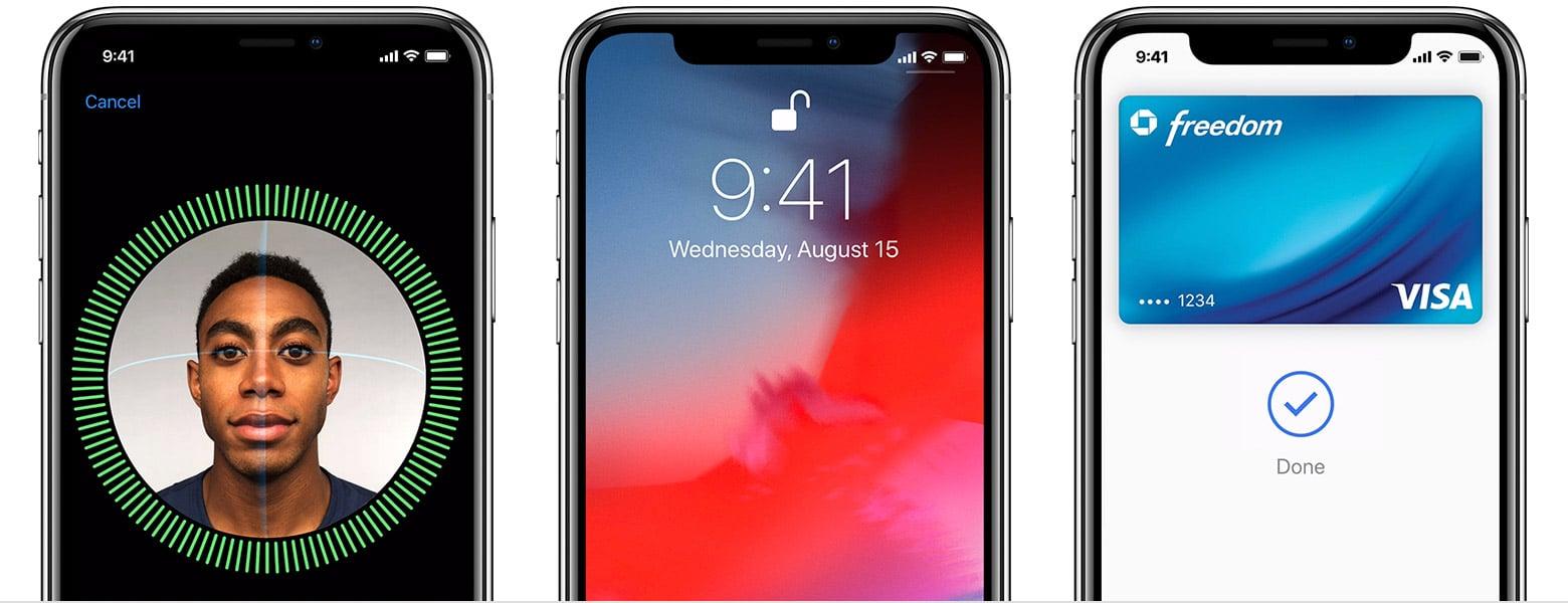 تحذير الشرطة بعدم النظر لهواتف iPhone X الخاصة بالمشتبة فيهم 1