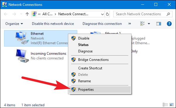 كيف تحصل على عنوان IP ثابت على جهازك بنظام ويندوز Windows 3