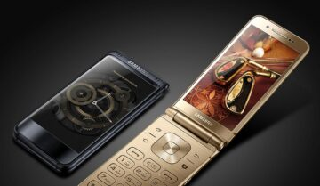 تسريبات عن Flip Phone رائد من سامسونج بشاشتين Amoled 6
