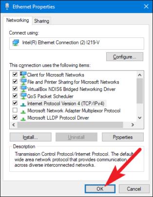 كيف تحصل على عنوان IP ثابت على جهازك بنظام ويندوز Windows 6