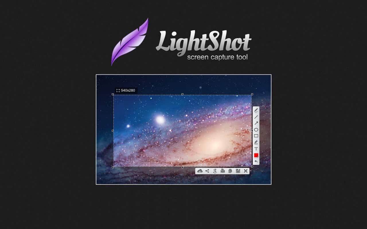 برنامج Lightshot لأخذ لقطات الشاشة والتعديل عليها مباشرةً 1