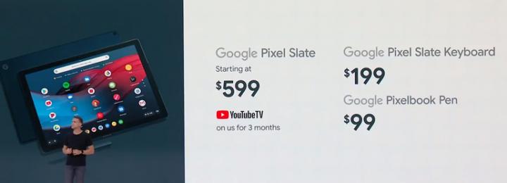 بدء استقبال الطلبات المسبقة لجهاز Google Pixel Slate 2