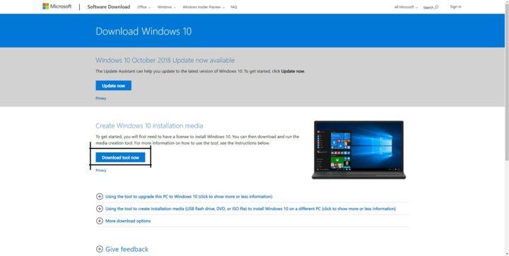 كيفية تحميل وتثبت ويندوز 10 windows بصيغه iso من Microsoft أخر تحديث 2