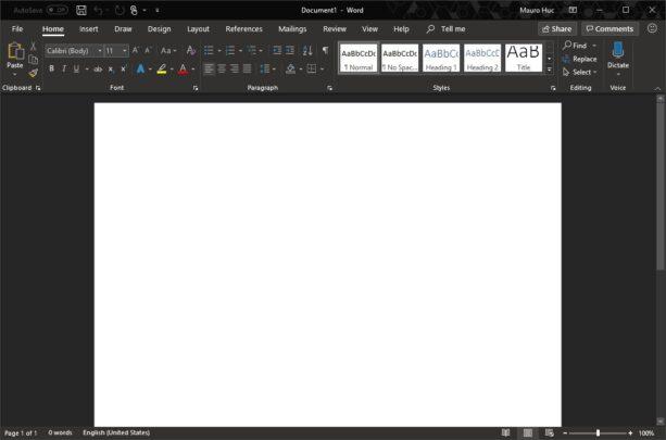 كيف تقوم بتغيير لون تطبيقات Microsoft Office الخاصة بك 5