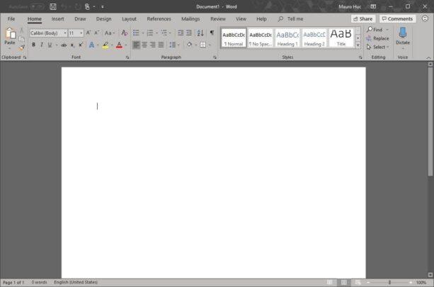 كيف تقوم بتغيير لون تطبيقات Microsoft Office الخاصة بك 4