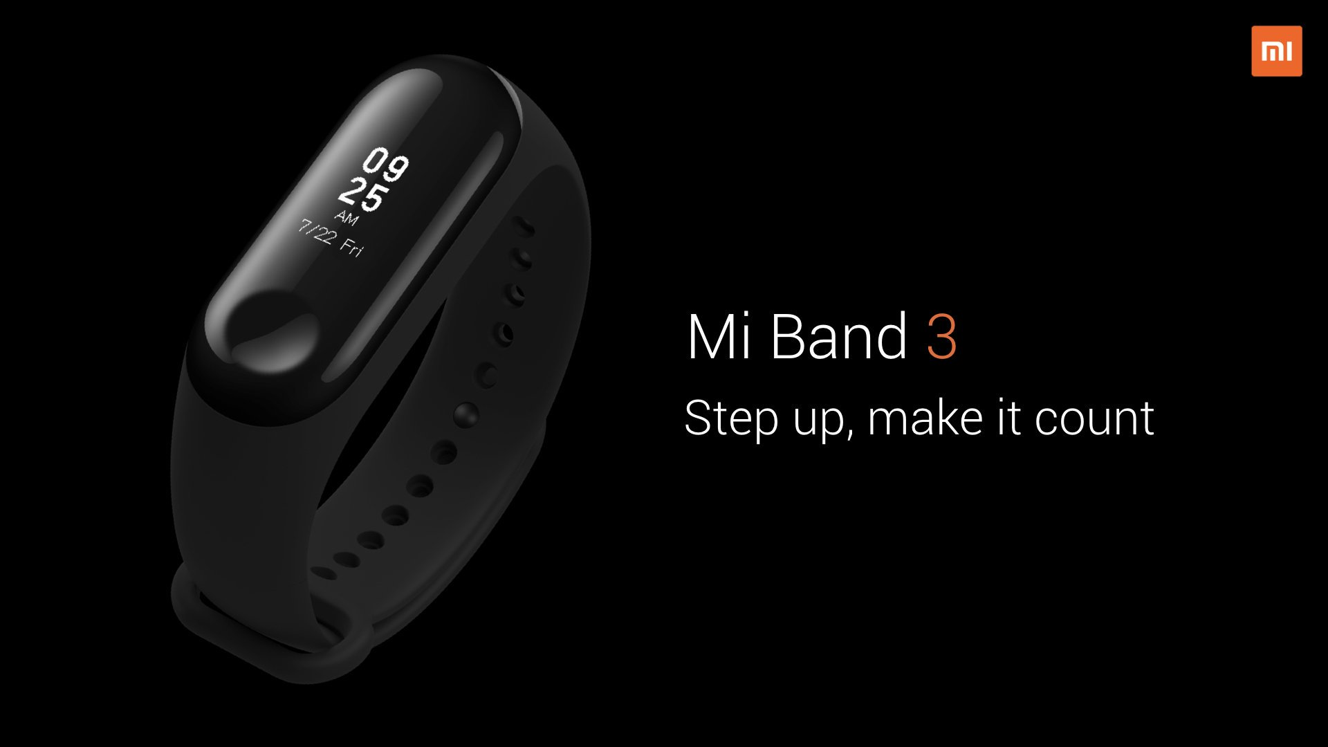 Mi Band 3 : أفضل سوار رياضي حتي الآن ؟ 1
