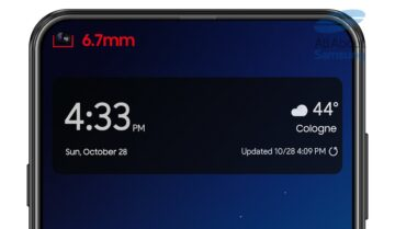 Galaxy S10 بتصميم مشابه لـA8s ؟ 5