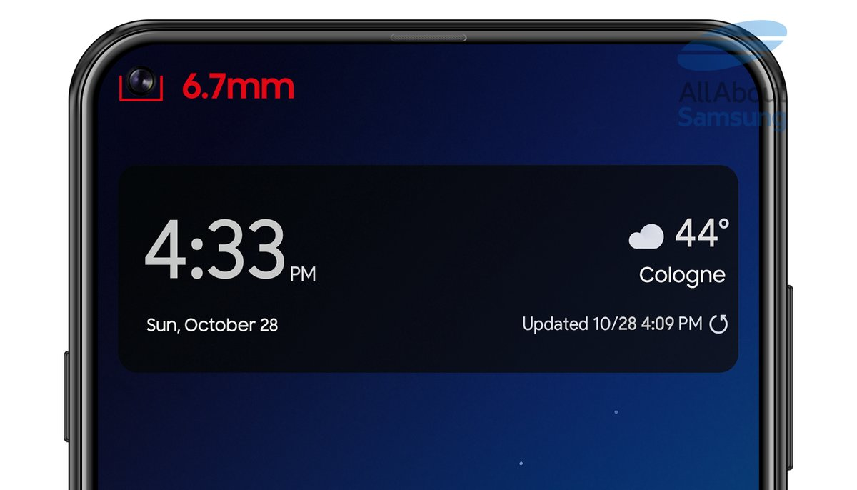 Galaxy S10 بتصميم مشابه لـA8s ؟ 1