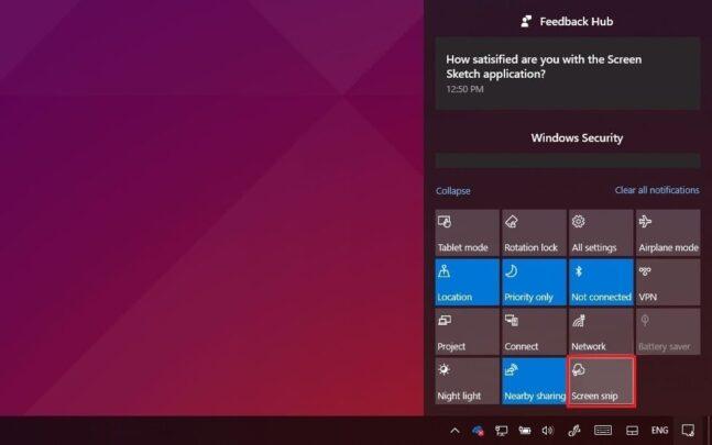 كيف تلتقط صورة للشاشة Screenshot على Windows 10 بعدة طرق 6